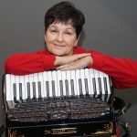 Sharon Rogers and accordion